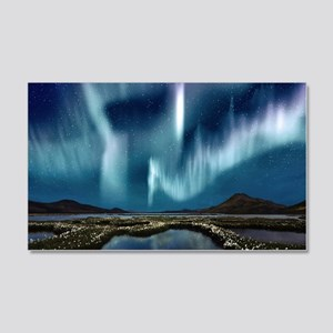 Northern Lights 20x12 Wall Decal