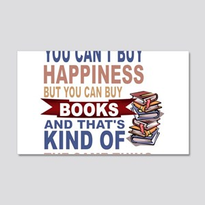 Books Rock Wall Decal