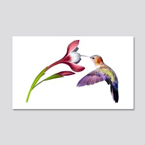 Hummingbird 20x12 Wall Peel