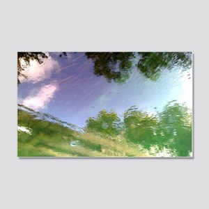 River Reflections 20x12 Wall Decal