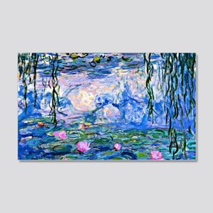 d87837318e41c4 Monet - Water Lilies, 1919 20x12 Wall Decal