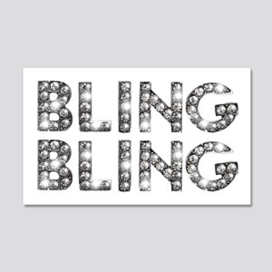 bling-bling-tee 20x12 Wall Decal