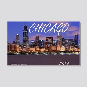 chicago 2014 20x12 Wall Decal