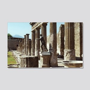 Apollo Statue Pompeii Italy Souve 20x12 Wall Decal