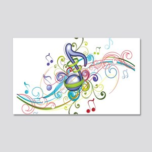 Music in the air 20x12 Wall Decal