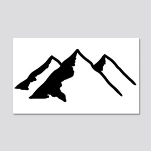Mountains 20x12 Wall Decal