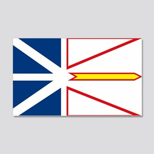 Newfoundland Flag 20x12 Wall Peel