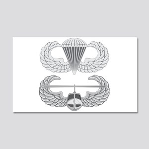 Airborne and Air Assault 22x14 Wall Peel