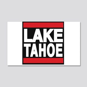 lake tahoe red Wall Decal