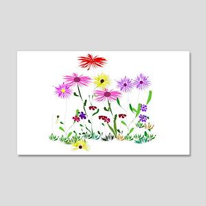 Flower Bunch 20x12 Wall Decal