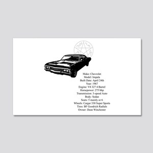 Impala with specs 20x12 Wall Decal