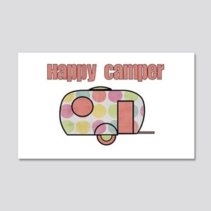 Happy Camper (Pinks) Wall Decal