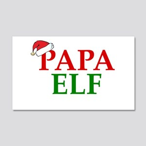 PAPA ELF Wall Decal