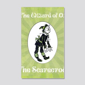 Wizard of Oz Scarecrow 20x12 Wall Decal
