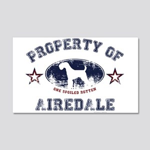 Airedale 20x12 Wall Decal