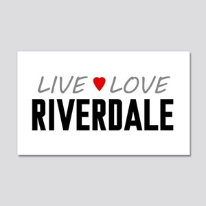 Live Love Riverdale 22x14 Wall Peel