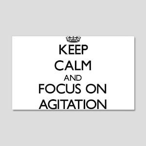 Keep Calm And Focus On Agitation Wall Decal