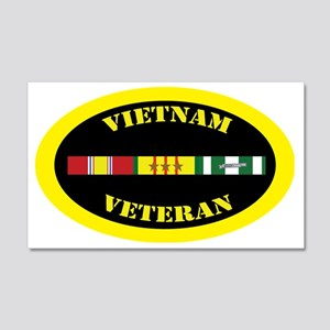 vietnam-oval-3-1 20x12 Wall Decal