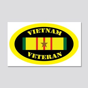 vietnam-oval-1 20x12 Wall Decal