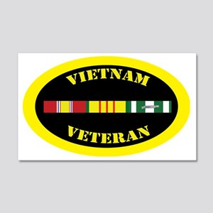 vietnam-oval-0-1 20x12 Wall Decal