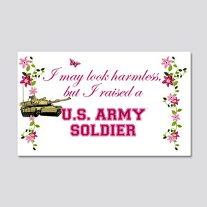 I Raised A Soldier 20x12 Wall Decal