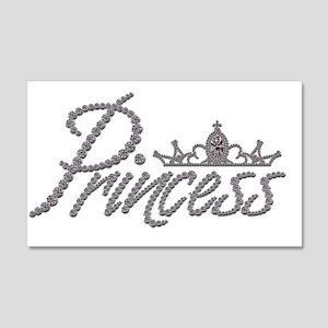 Diamond Princess and Tiara 20x12 Wall Decal