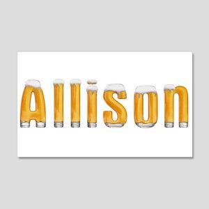 Allison Beer 22x14 Wall Peel