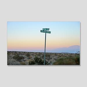Desert Crossroads 20x12 Wall Decal