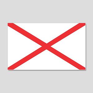 Alabama State Flag 20x12 Wall Decal