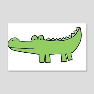 """allie gator"" 20x12 Wall Peel"