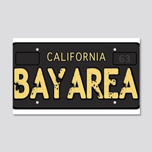 Bay Area calfornia old license Wall Decal