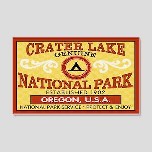 Crater Lake National Park 20x12 Wall Peel