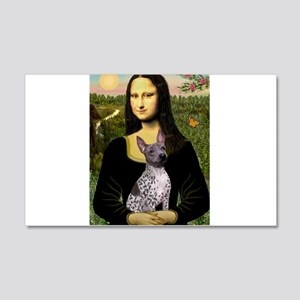 MonaLisa - AmHairless T. 20x12 Wall Decal