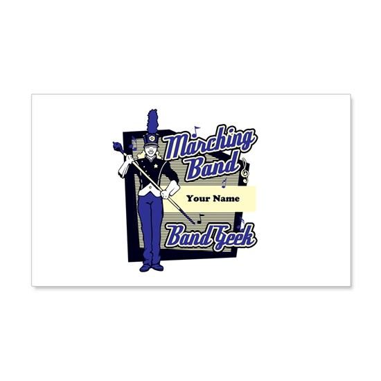 Custom Marching Band Geek(Blue)
