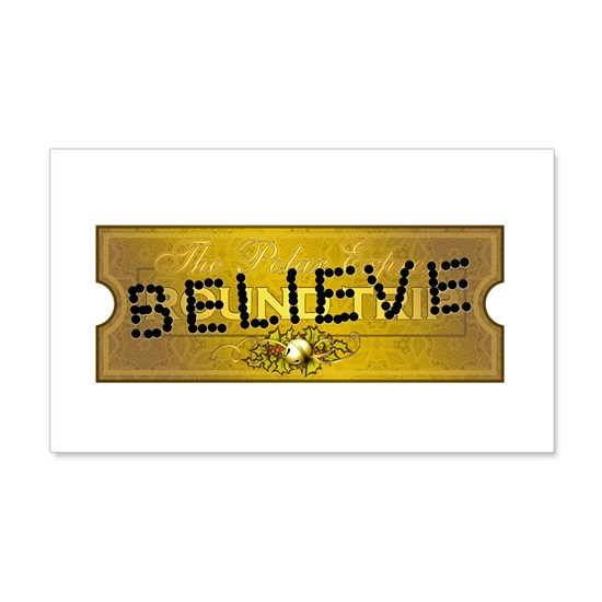Polar Express Punched Ticket - BELIEVE