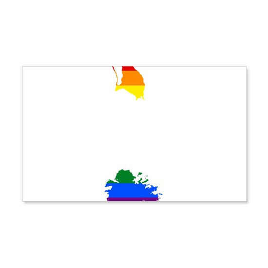 Gay Pride Flag Antiguaand Barbuda