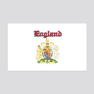 England Coat of arms 35x21 Wall Decal