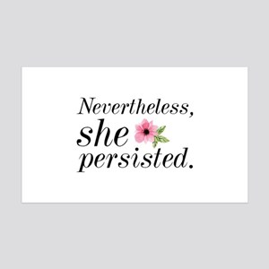 Nevertheless She Persisted 38.5 x 24.5 Wall Peel