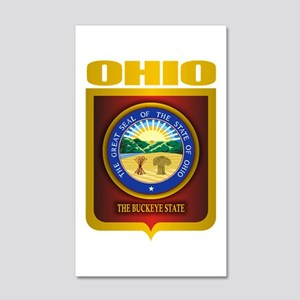 Ohio State Seal (B) 35x21 Wall Decal
