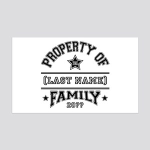 Family Property 35x21 Wall Decal