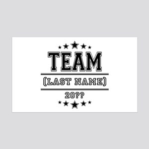 Team Family 35x21 Wall Decal