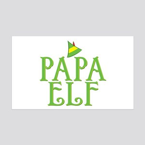 Papa Elf 38.5 x 24.5 Wall Peel
