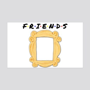 Friends Peephole Frame 35x21 Wall Decal