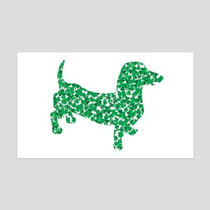 St. Patricks Day Dachshund Doxie Wall Decal