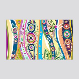 Colorful Flourish Wall Decal