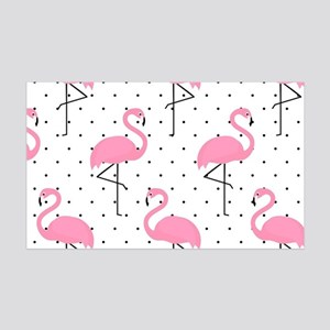 Cute Flamingo Wall Decal