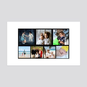 7 Photo Family Collage Wall Decal