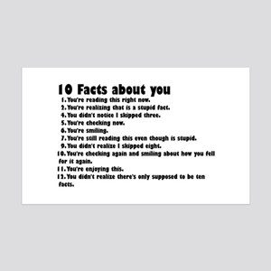 10 Facts about you Wall Decal