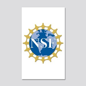 National Science Foundation Crest 35x21 Wall Decal