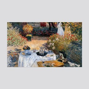 The Luncheon by Claude Monet 35x21 Wall Decal